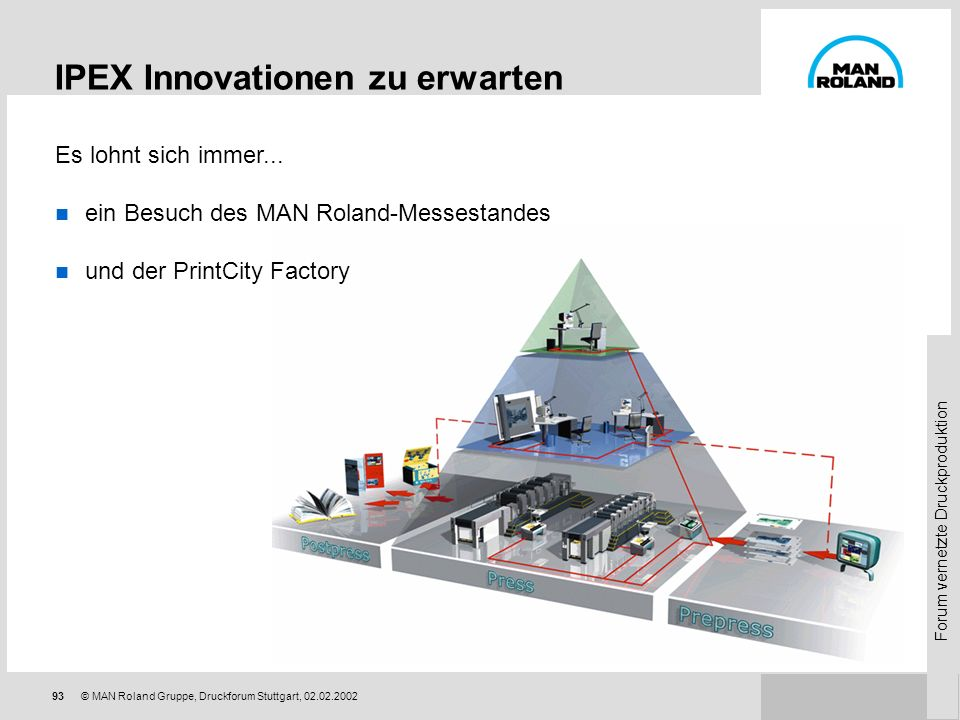 IPEX Innovationen zu erwarten