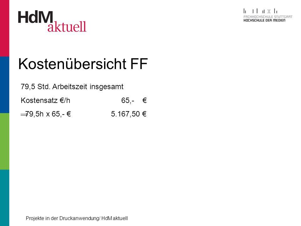 Kostenübersicht FF 79,5 Std. Arbeitszeit insgesamt