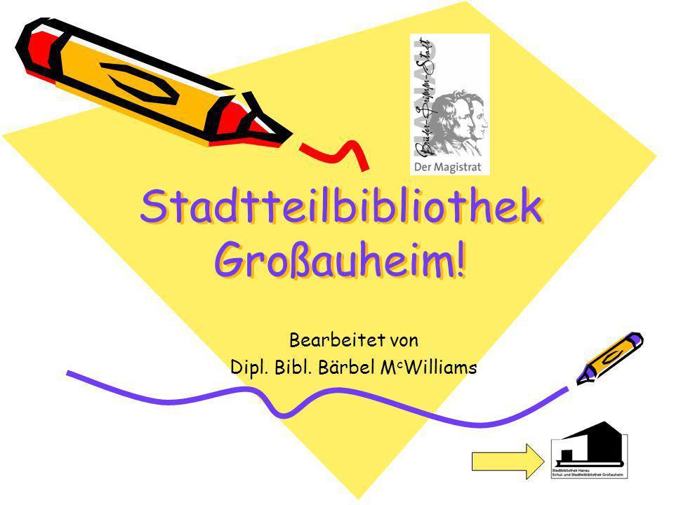 Stadtteilbibliothek Großauheim!