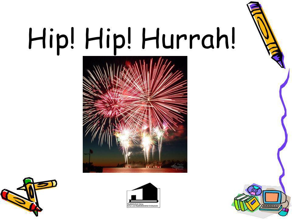 Hip! Hip! Hurrah!