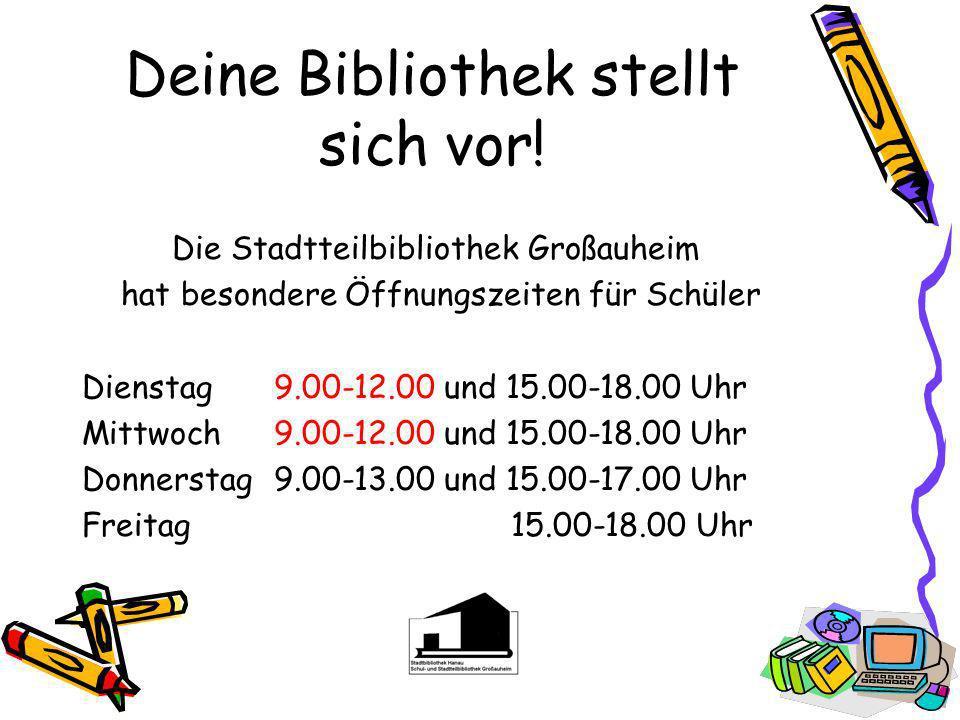 Deine Bibliothek stellt sich vor!
