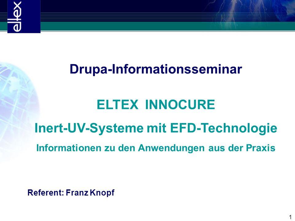 Drupa-Informationsseminar ELTEX INNOCURE