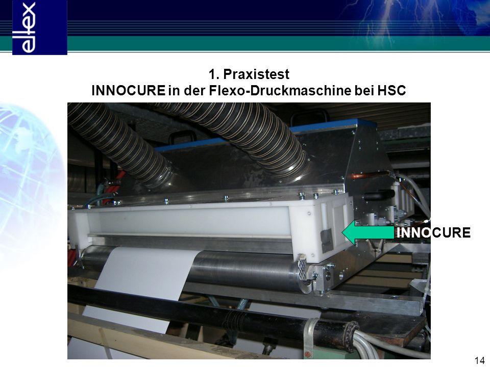 INNOCURE in der Flexo-Druckmaschine bei HSC