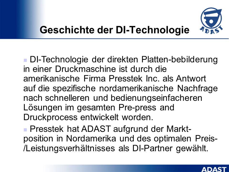 Geschichte der DI-Technologie