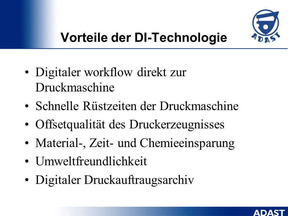Vorteile der DI-Technologie