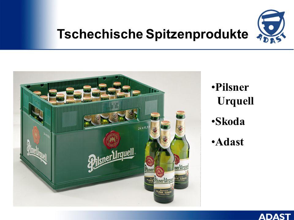 Tschechische Spitzenprodukte
