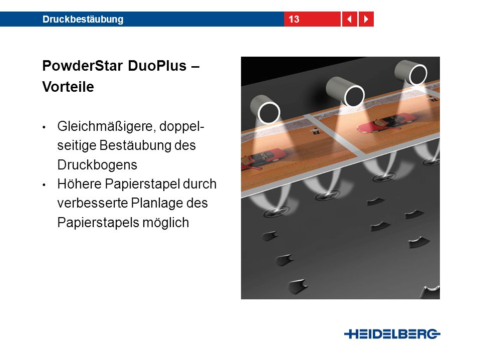 PowderStar DuoPlus – Vorteile