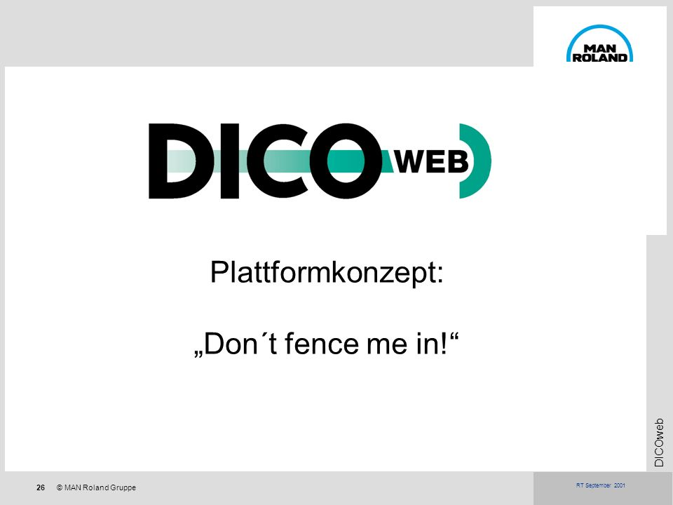 "Plattformkonzept: ""Don´t fence me in!"