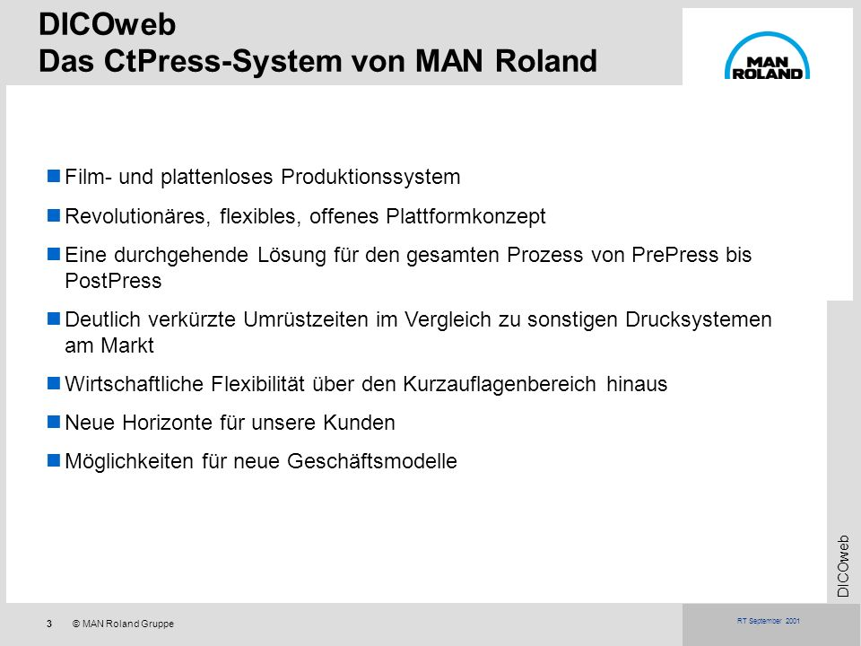 Das CtPress-System von MAN Roland