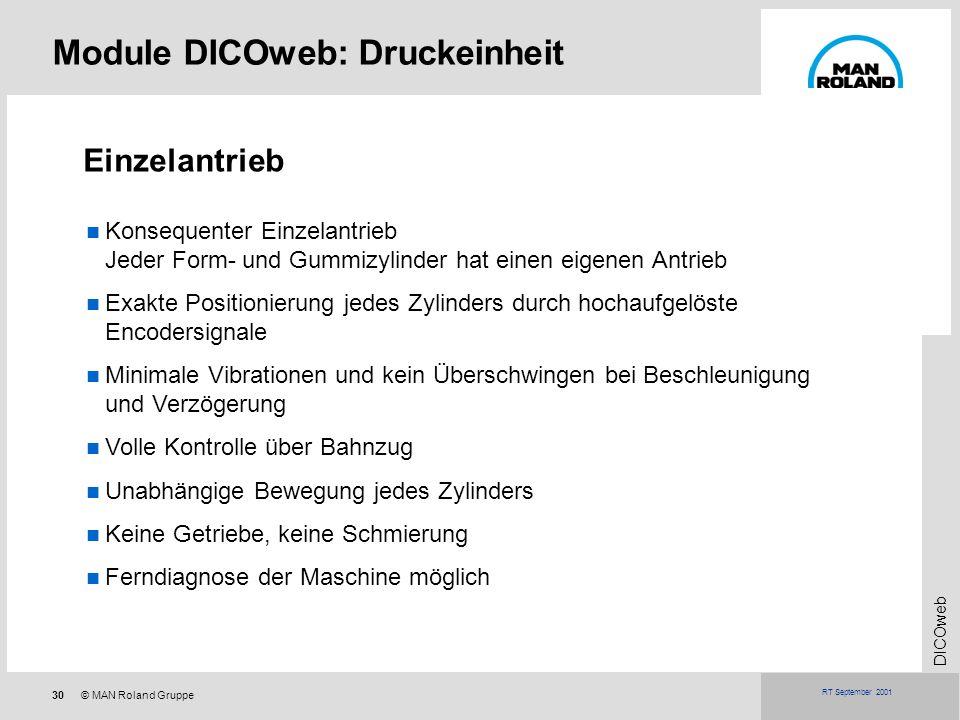 Module DICOweb: Druckeinheit