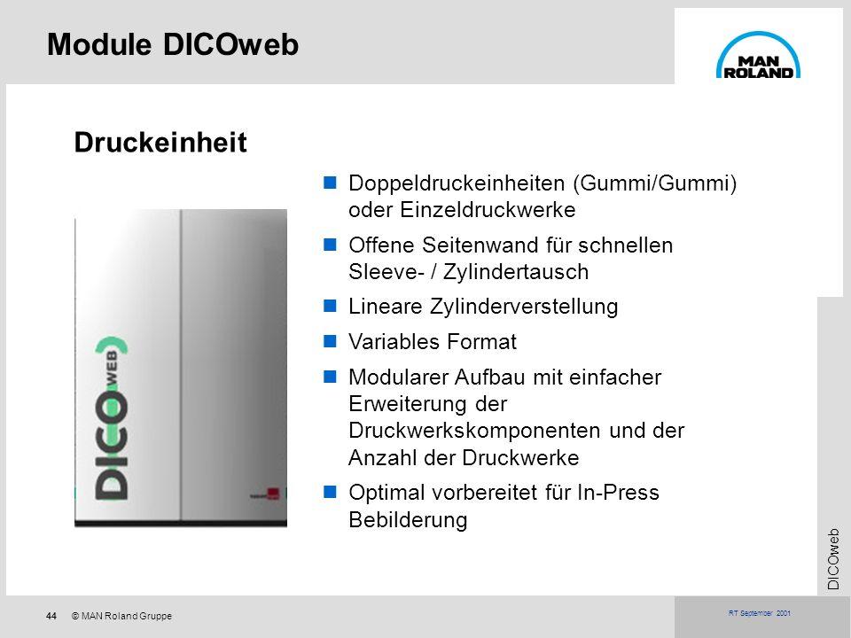 Module DICOweb Druckeinheit