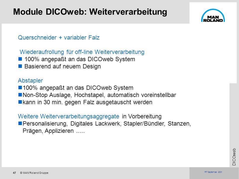 Module DICOweb: Weiterverarbeitung