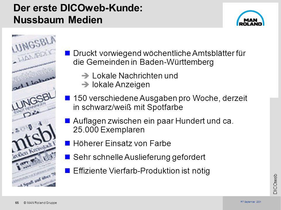 Der erste DICOweb-Kunde: Nussbaum Medien
