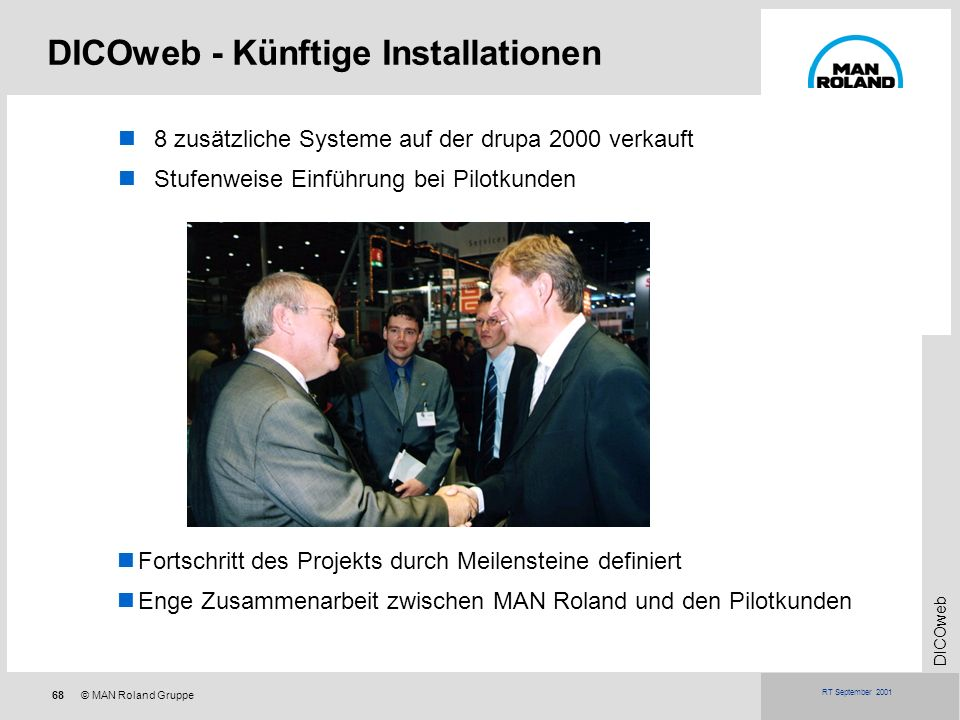 DICOweb - Künftige Installationen