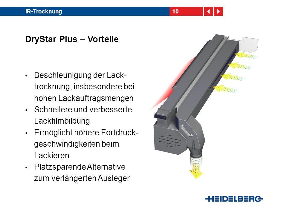 DryStar Plus – Vorteile