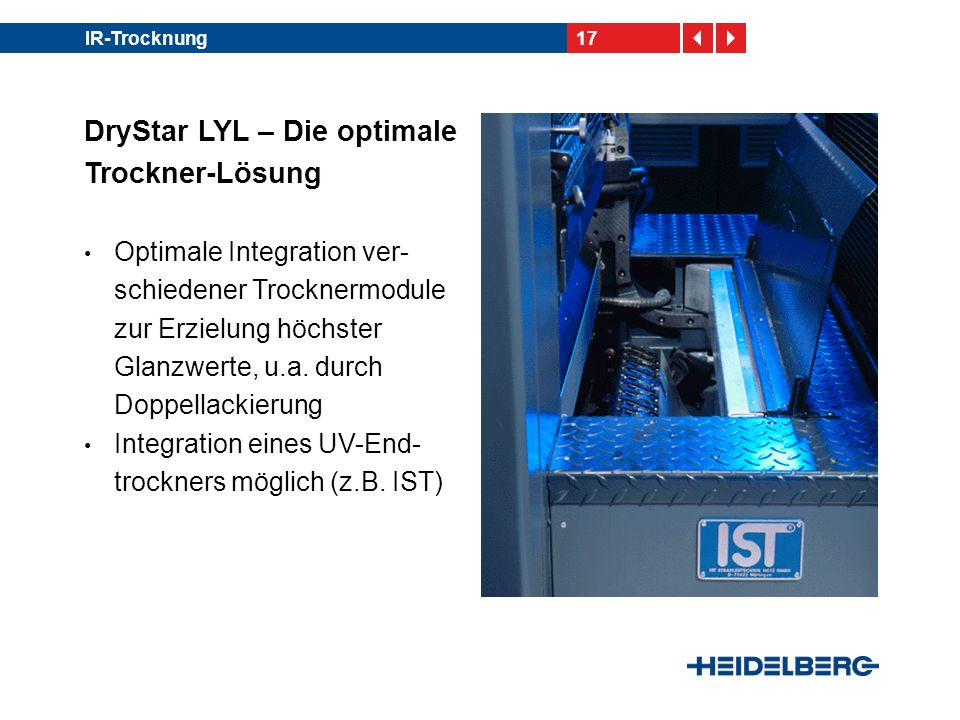 DryStar LYL – Die optimale Trockner-Lösung
