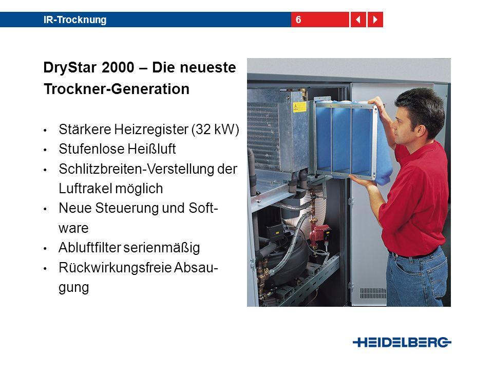 DryStar 2000 – Die neueste Trockner-Generation