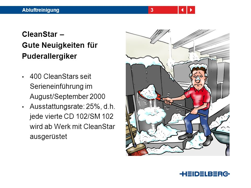 CleanStar – Gute Neuigkeiten für Puderallergiker