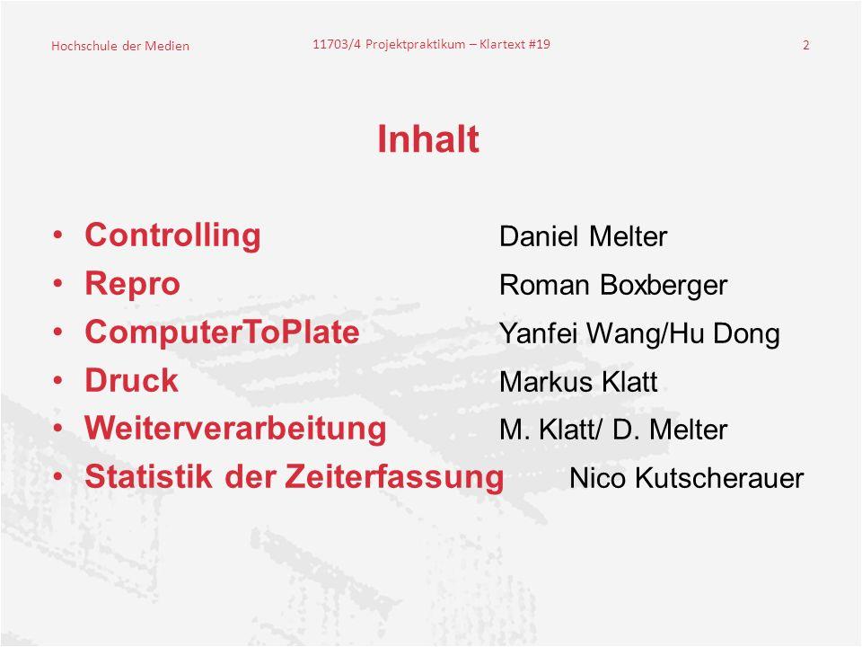 Inhalt Controlling Daniel Melter Repro Roman Boxberger