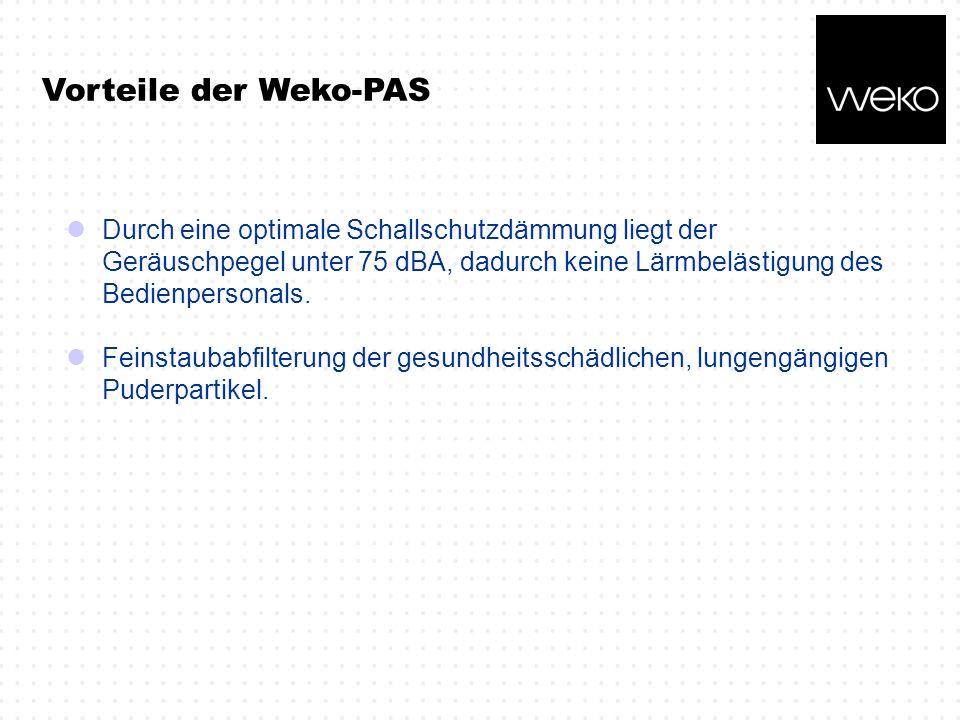 Vorteile der Weko-PAS