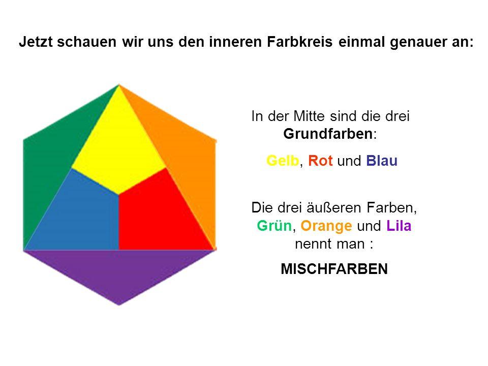 Jetzt schauen wir uns den inneren Farbkreis einmal genauer an: