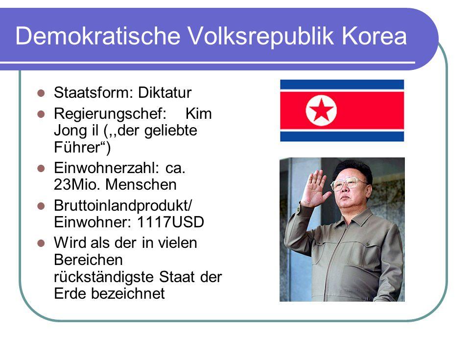 Demokratische Volksrepublik Korea