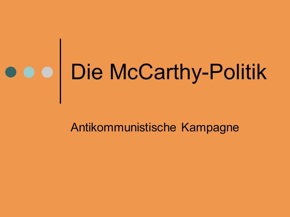 Antikommunistische Kampagne