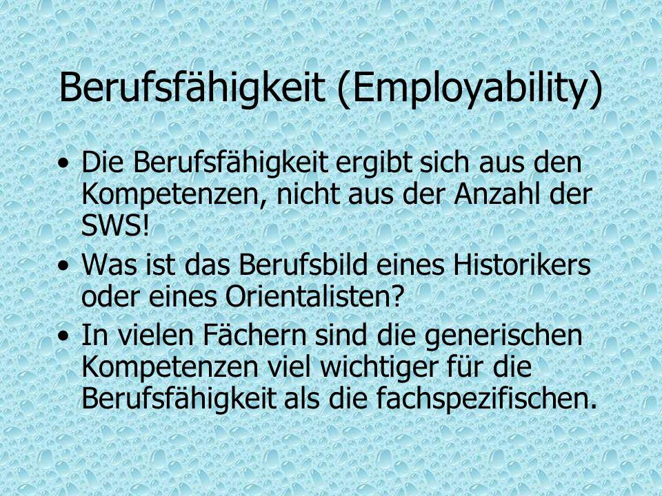Berufsfähigkeit (Employability)