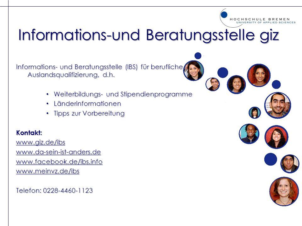 Informations-und Beratungsstelle giz