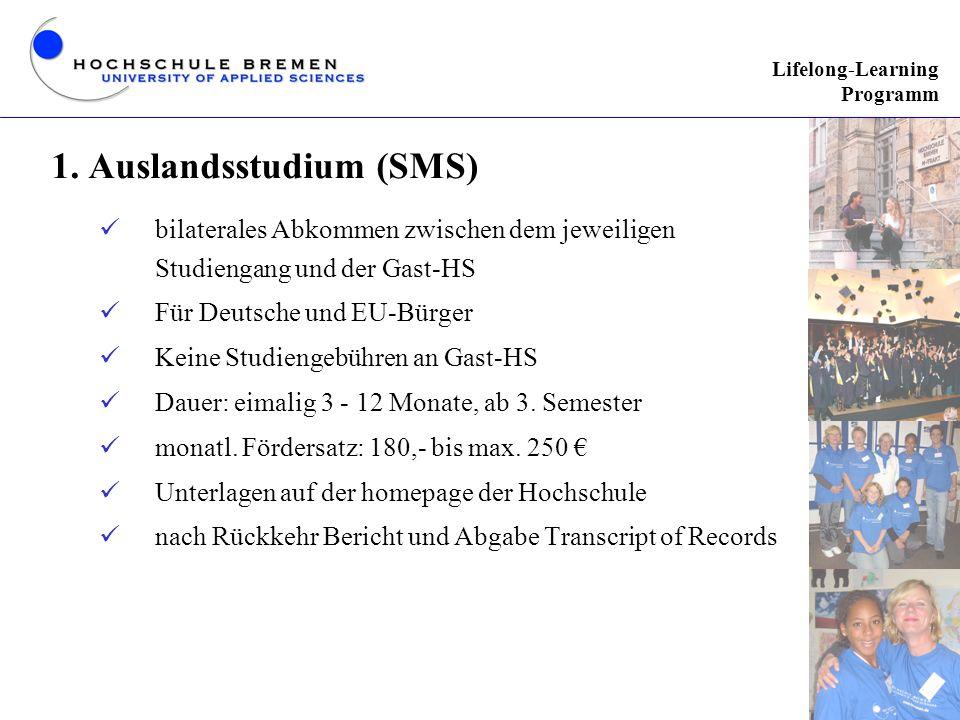 1. Auslandsstudium (SMS)