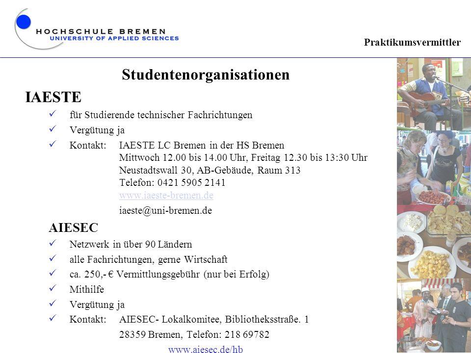 Studentenorganisationen