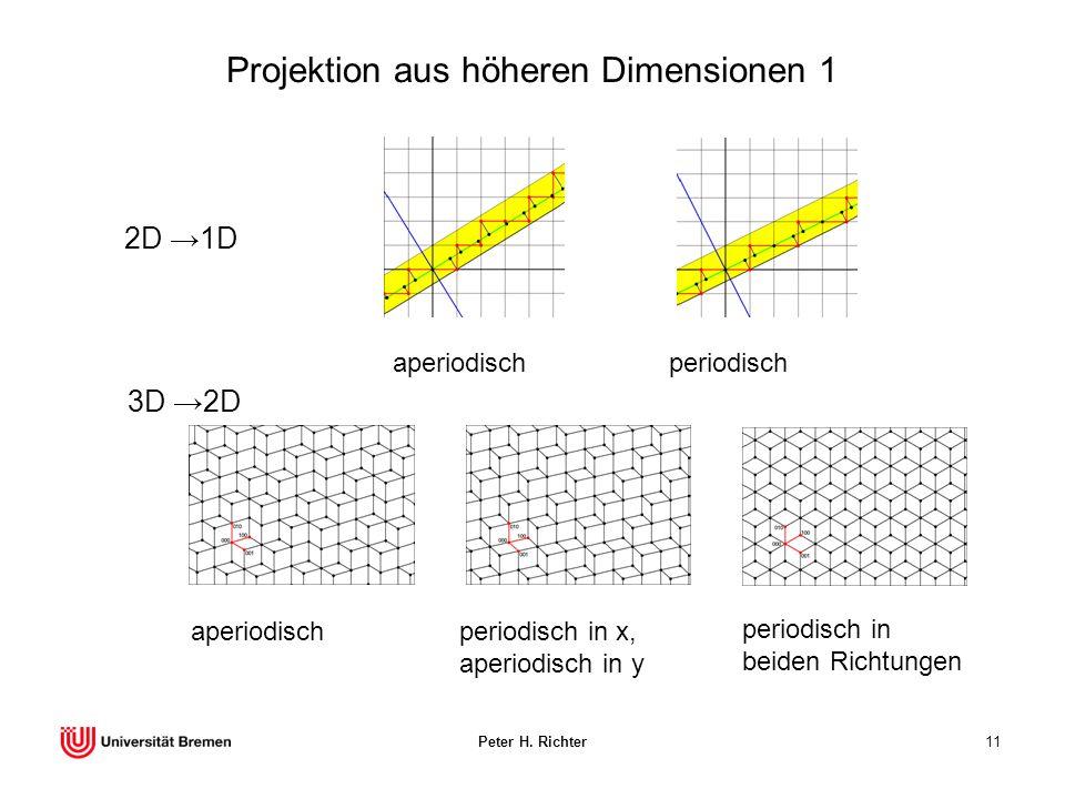 Projektion aus höheren Dimensionen 1