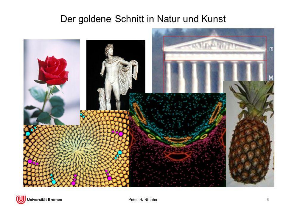 Der goldene Schnitt in Natur und Kunst