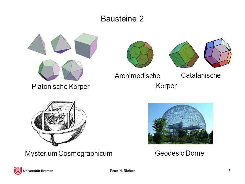 Bausteine 2 Archimedische Catalanische Platonische Körper Körper