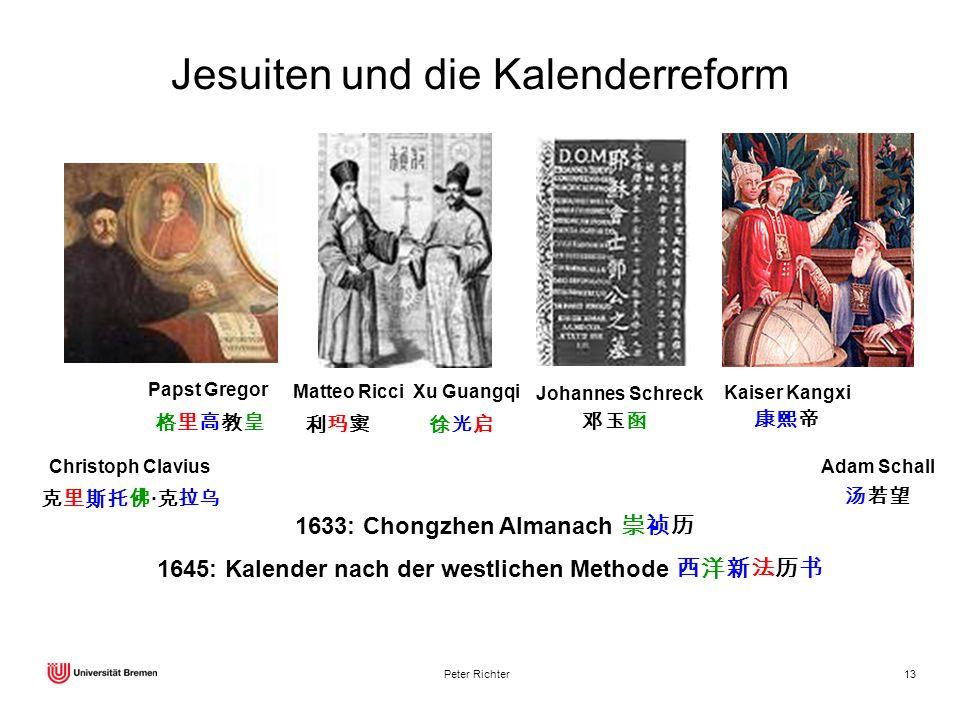 Jesuiten und die Kalenderreform