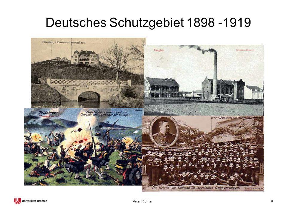 Deutsches Schutzgebiet 1898 -1919