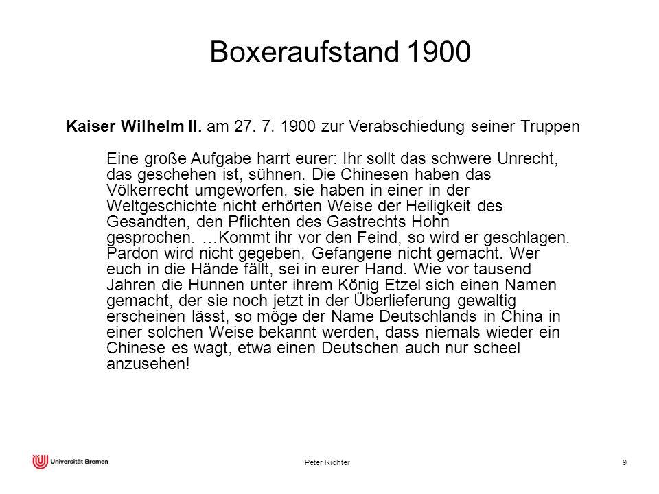 Boxeraufstand 1900