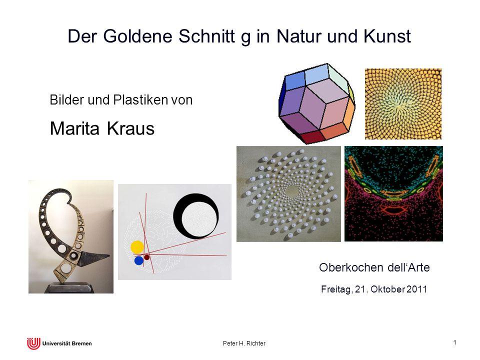 Der Goldene Schnitt g in Natur und Kunst