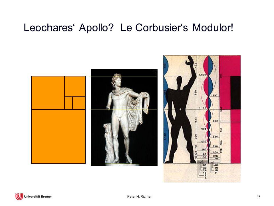 Leochares' Apollo Le Corbusier's Modulor!