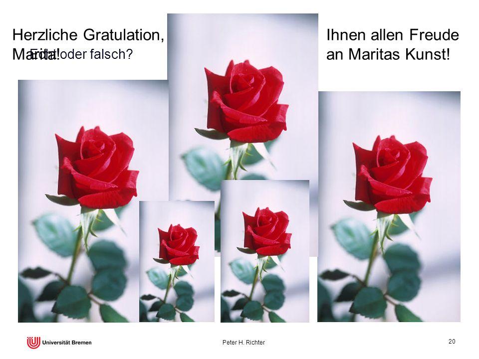 Herzliche Gratulation, Marita! Ihnen allen Freude an Maritas Kunst!