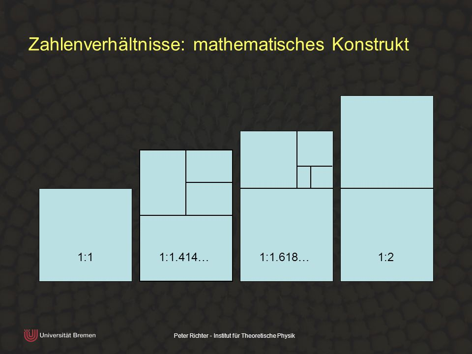 Zahlenverhältnisse: mathematisches Konstrukt