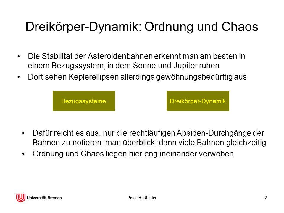 Dreikörper-Dynamik: Ordnung und Chaos