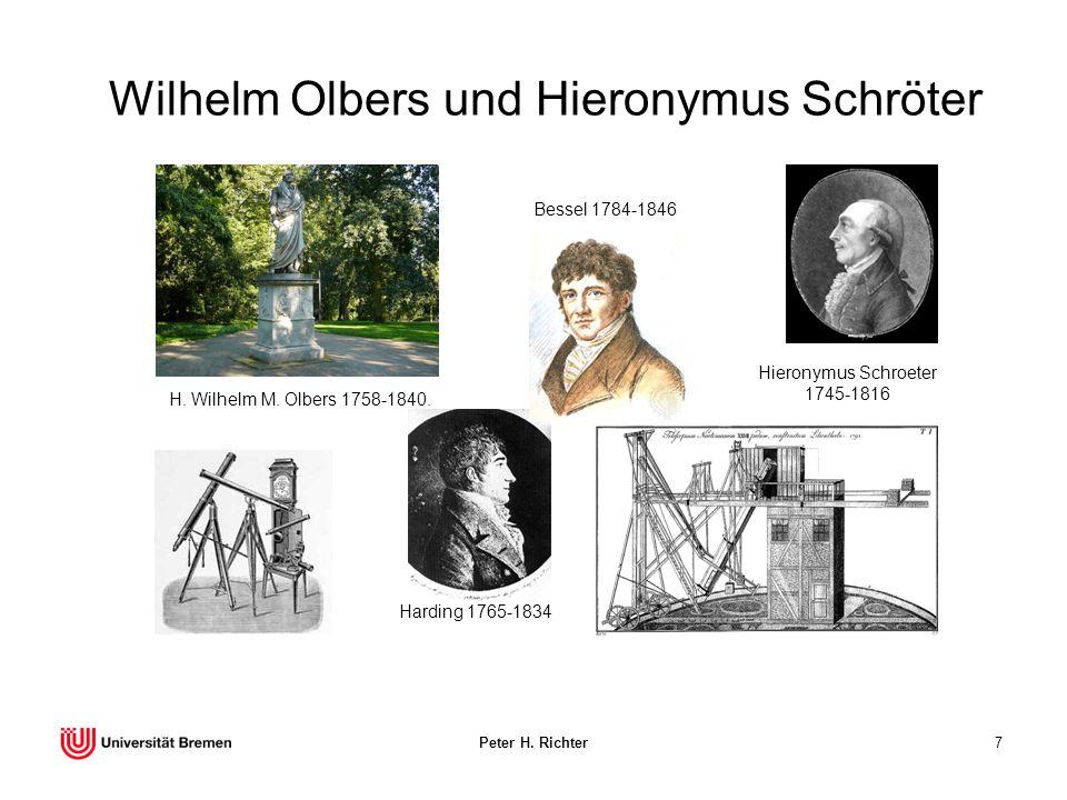 Wilhelm Olbers und Hieronymus Schröter