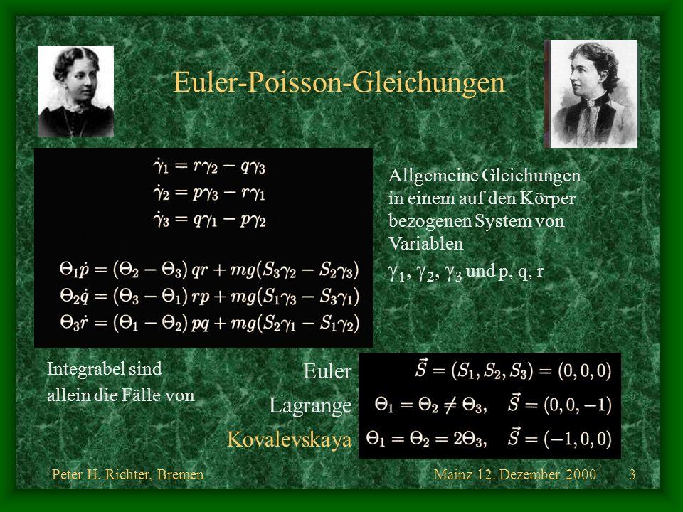 Euler-Poisson-Gleichungen