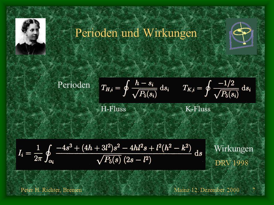Perioden und Wirkungen