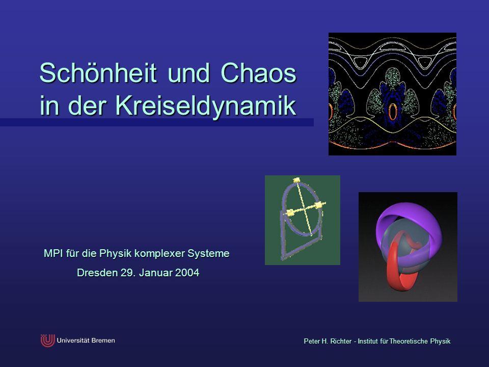 Schönheit und Chaos in der Kreiseldynamik