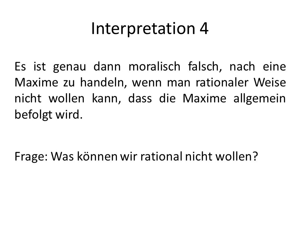 Interpretation 4