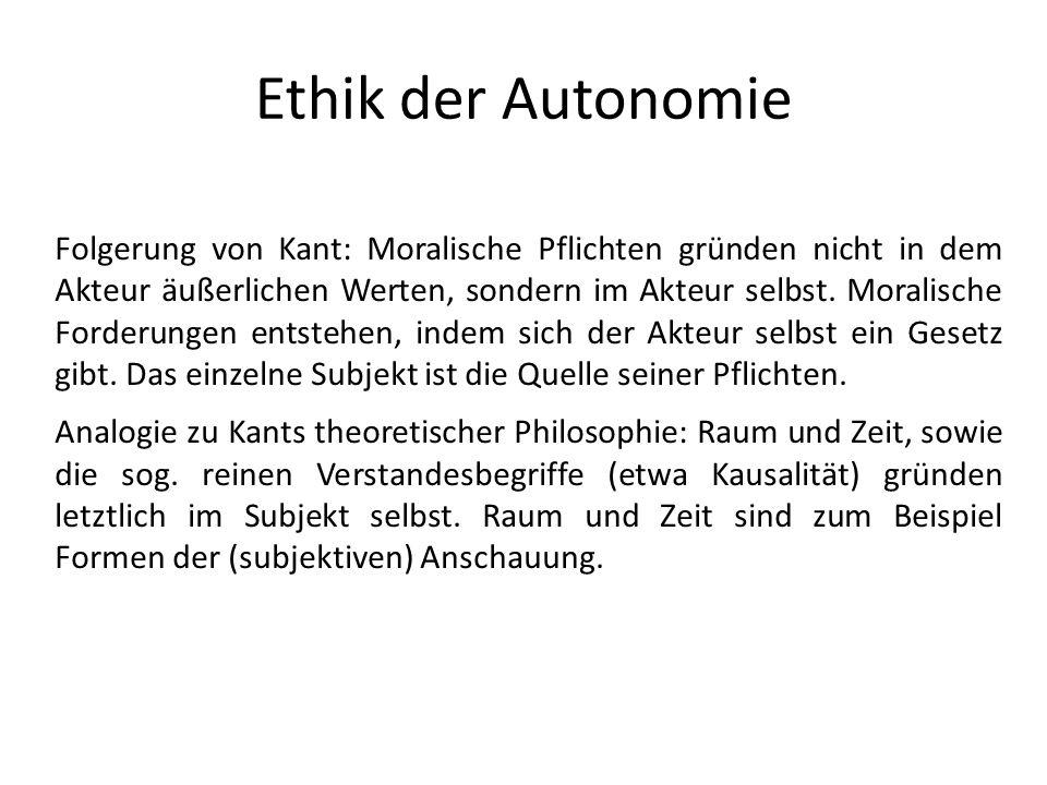 Ethik der Autonomie