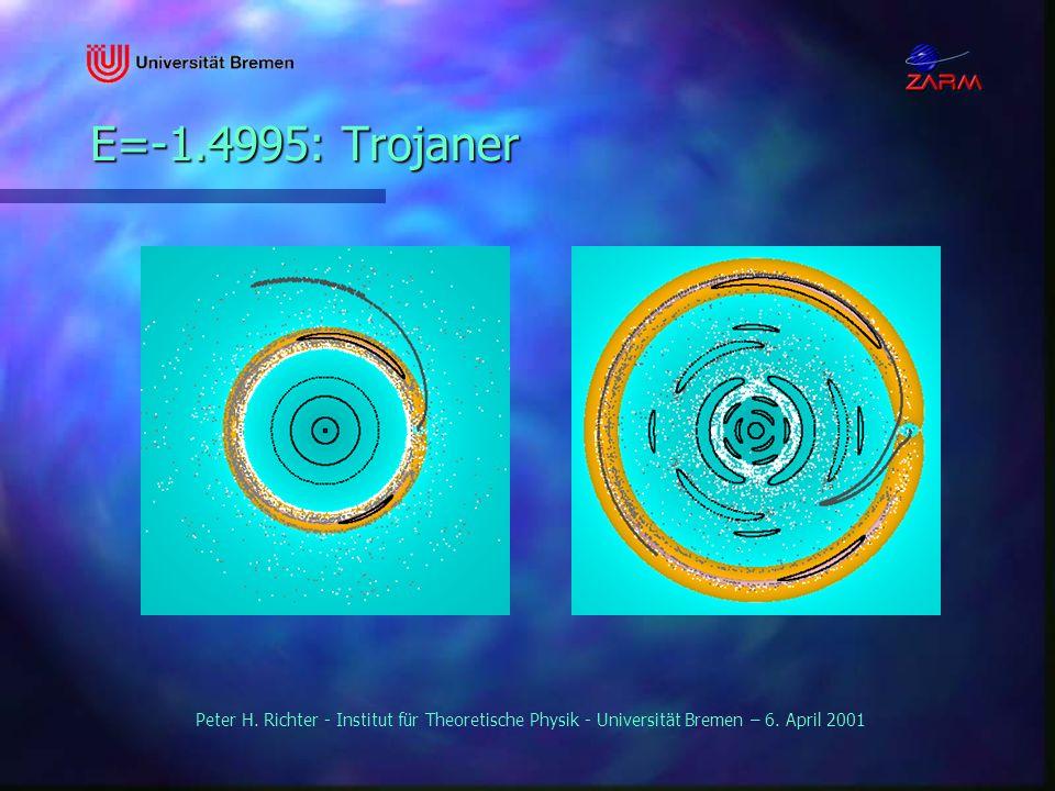 E=-1.4995: Trojaner Peter H. Richter - Institut für Theoretische Physik - Universität Bremen – 6.
