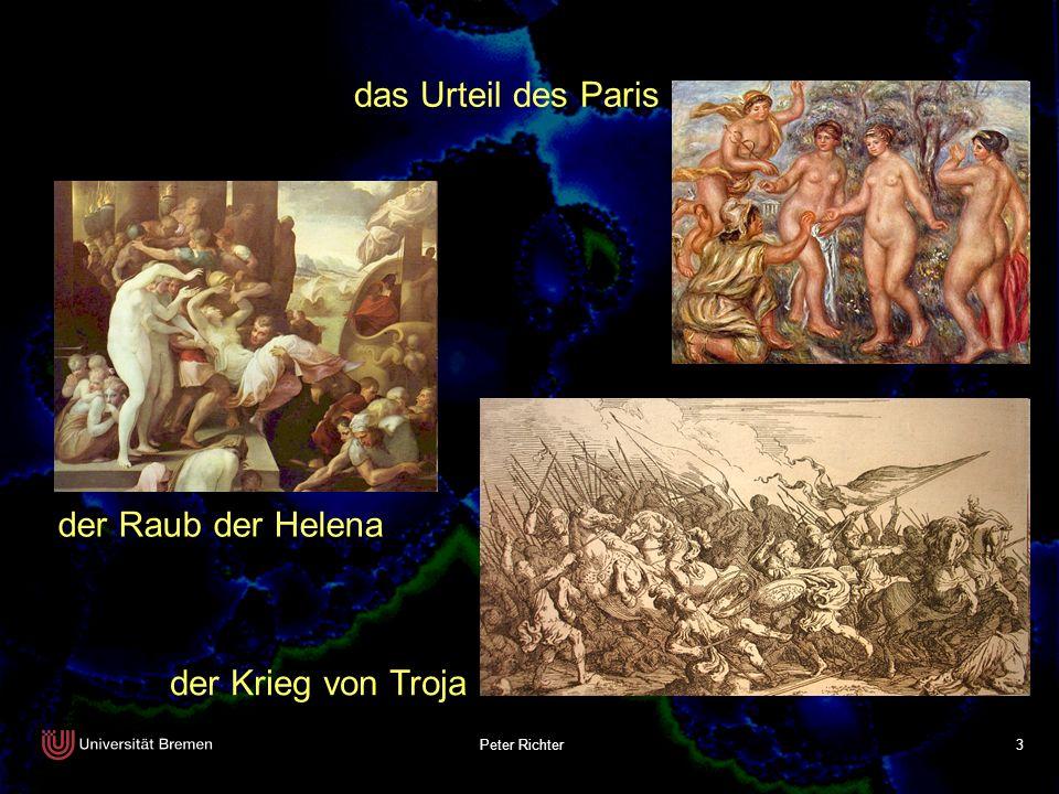das Urteil des Paris der Raub der Helena der Krieg von Troja